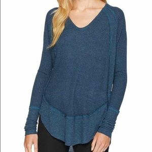 NWT Free People Catalina thermal top.
